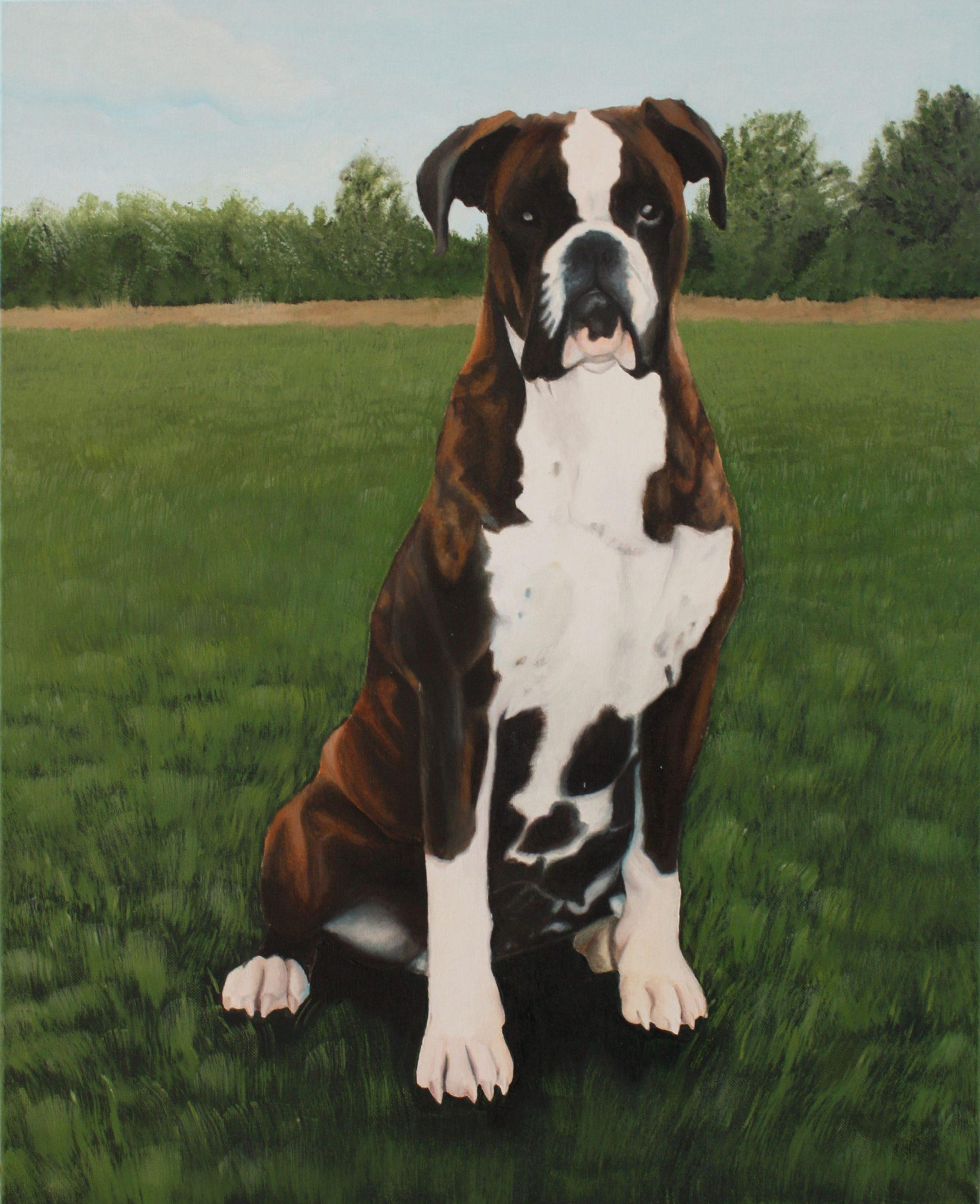 Claudia-art-gallery-dog