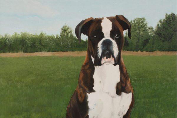 Pintura a óleo sobre tela 50 cm x 40 cm
