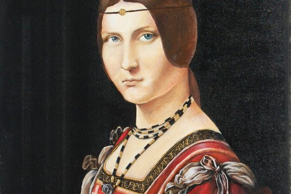 Oil painting on canvas 46 cm x 55 cm