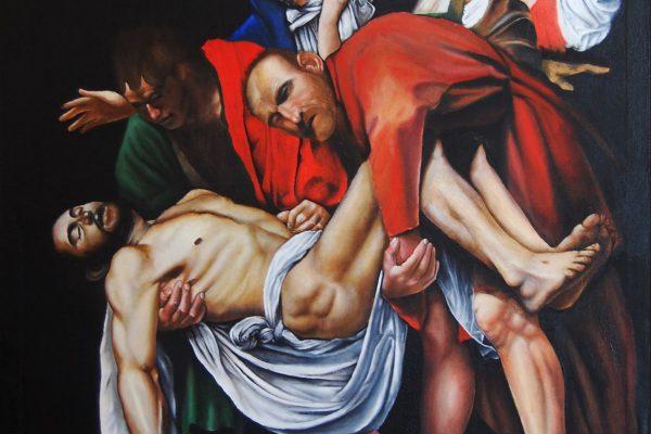Oil painting on canvas 94 cm x 75 cm