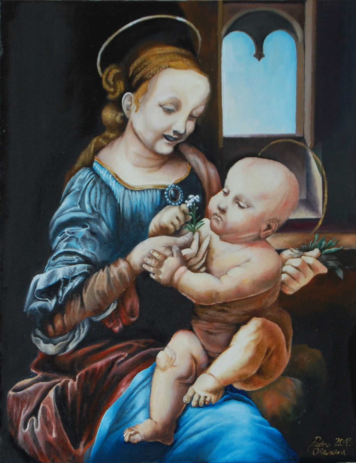 Claudia-art-gallery-oil-painting-madonna-and-child