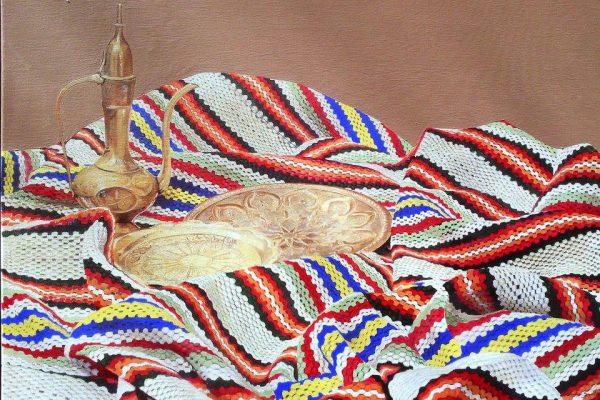 Acrilic painting on canvas 60 cm x 80 cm