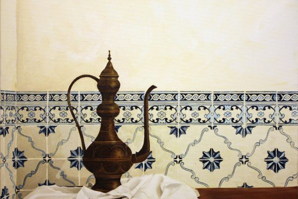 Oil painting on canvas – Draping
