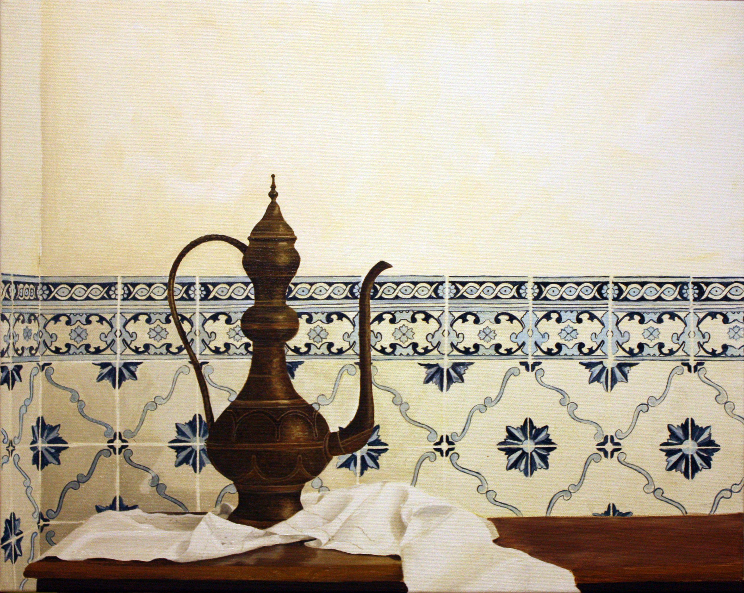 pintura a oleo panejamento