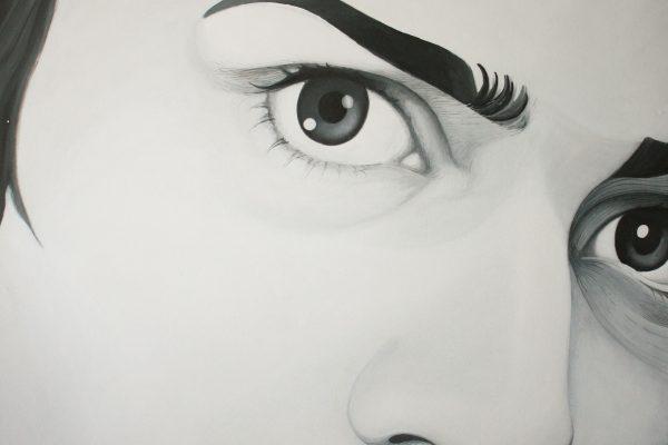 Pintura a acrílico sobre tela 100cm x 120 cm