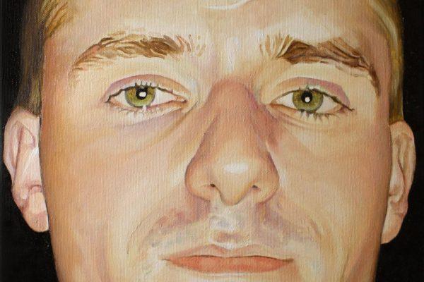 Pintura a óleo sobre tela 40 cm x 30 cm