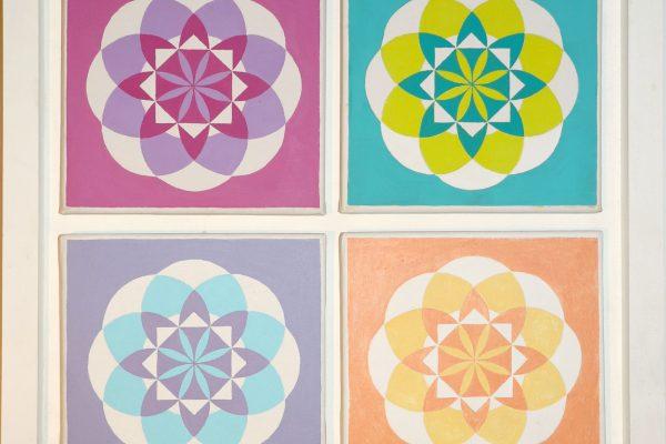 Pinturas a acrílico sobre telas 20cm x 20cm